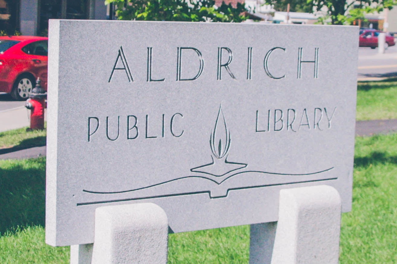 Aldrich Library August Newsletter