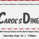 Barre-Tones 46th Annual Concert -