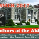 Authors at the Aldrich: Dana Walrath