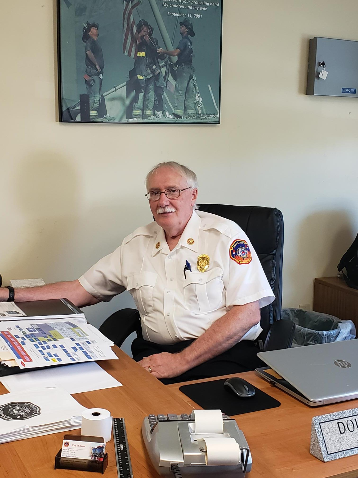 Douglas Brent, Fire Chief
